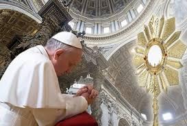Adorazione Eucaristica ogni giovedì in Seminario