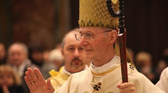 Padre Enrico Masseroni celebra 29 anni di episcopato