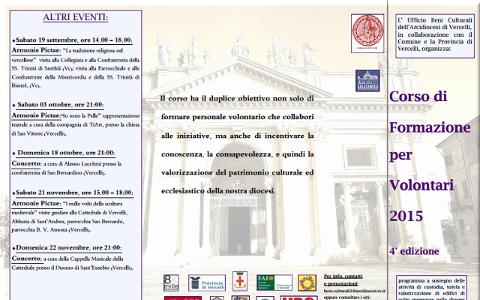Visite quidate alle chiese di Vercelli e Concerto