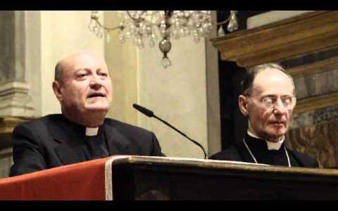 Monsignor Gianfranco Ravasi a Vercelli - Convegno Ecclesiale