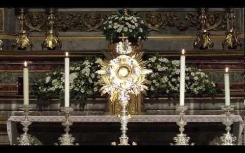 Adorazione SS. sacramento - Congresso Eucaristico