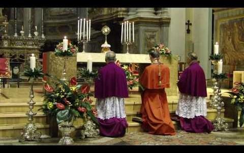 Secondi Vespri Pontificali di S.Eusebio