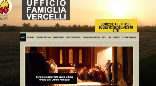 Il nuovo sito della Pastorale Familiare di Vercelli