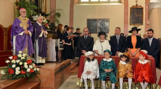 Prima uscita ufficiale di Mons. Marco Arnolfo ad Asigliano