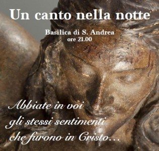 Sant'Andrea sabato 28 febbraio