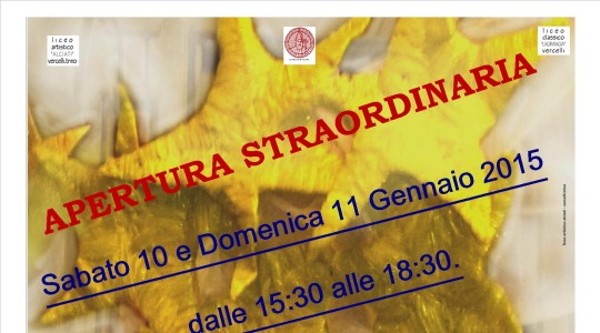 Apertura Straordinaria Presepe San Vittore