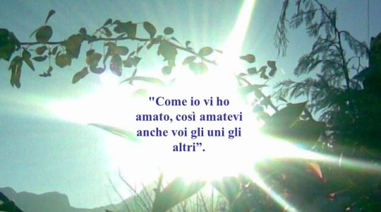 VI (sesta) domenica di Pasqua    Gv 15,9-17
