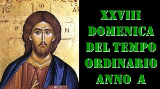 XXVIII domenica tempo ordinario Mt 22, 1-14
