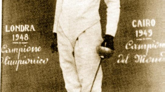 Gino Cantone: campione olimpico di spada
