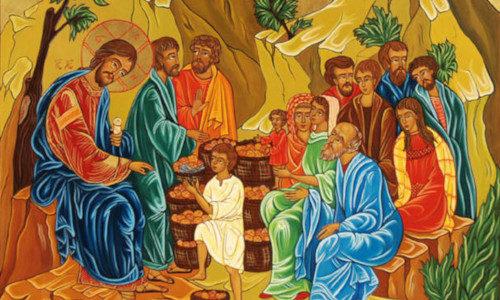 XVII domenica tempo ordinario Gv 6,1-15